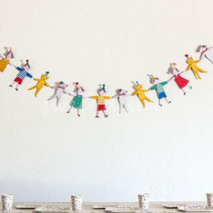 Guirnalda fiesta infantil