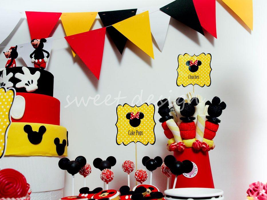Mesa Dulce para fiesta cumpleaños infantil