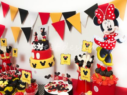 Buffet de chuches de Mckey y MInnie