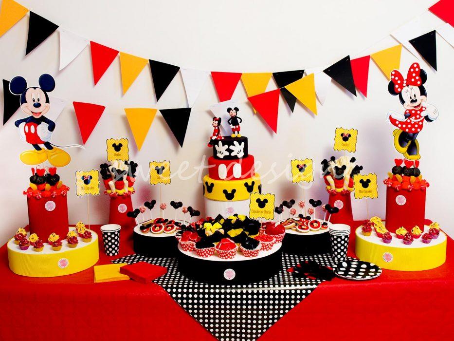 Mesa Dulce Mickey y Minnie