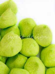 Nubes verdes de manzana