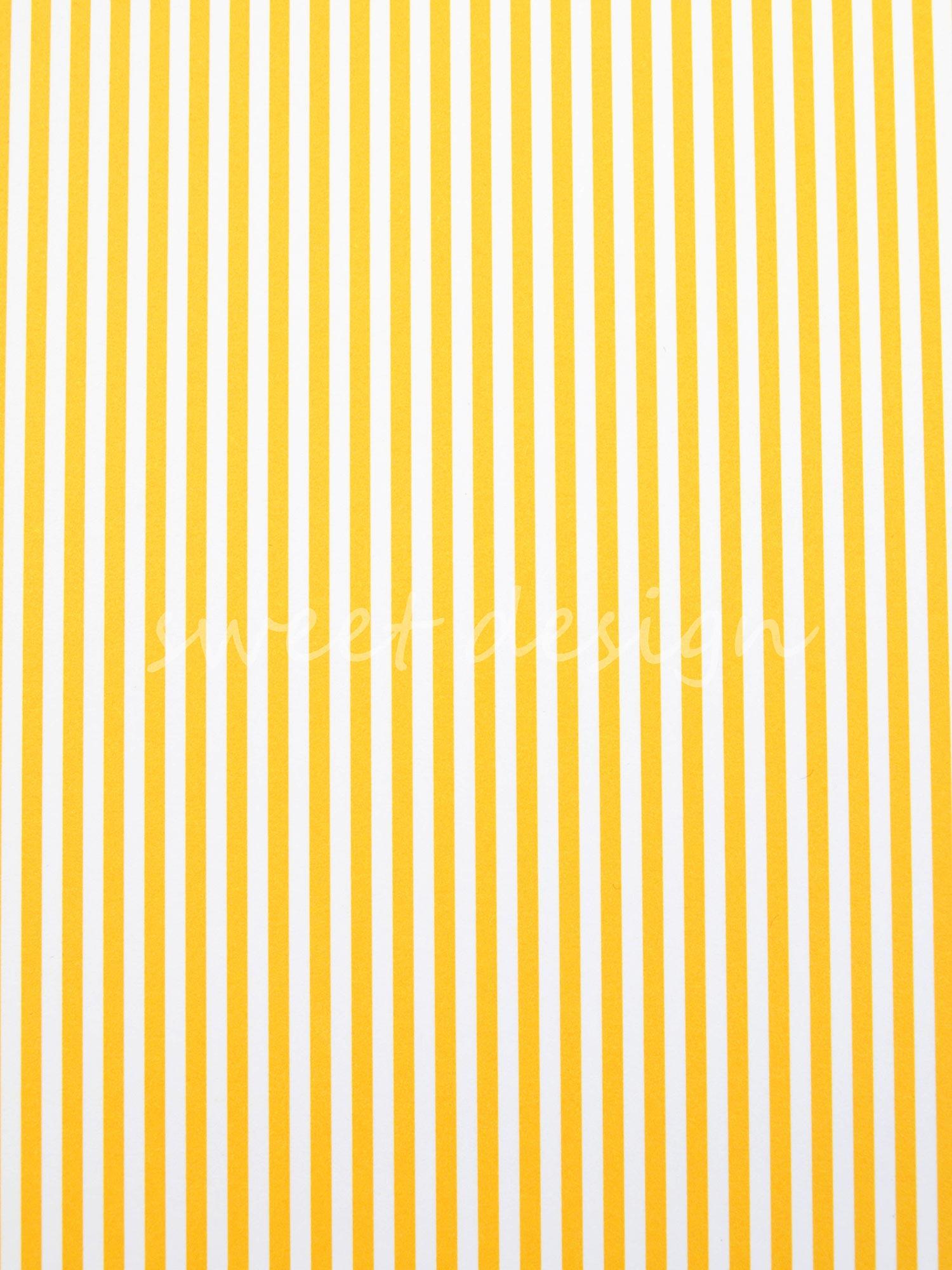 Cartulina decorada rayas amarillas sweet design - Papel de pared de rayas ...