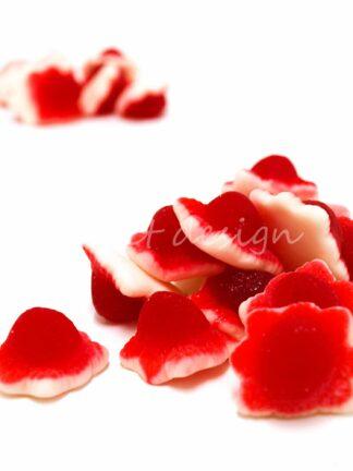 Chuches de fresa rellenas