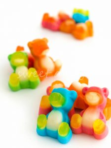 Osos de colores de gominola