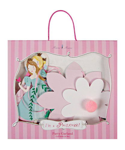 Guirnalda princesas rosa