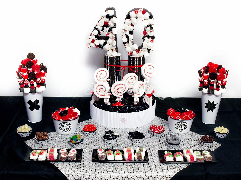 Candy bar cumplea os for Mesa de cumpleanos para adultos