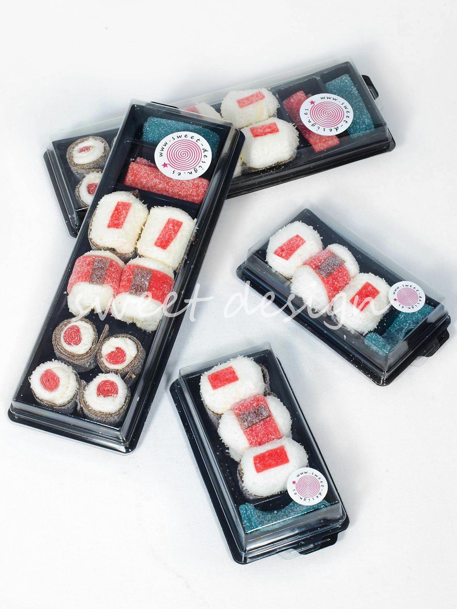 Sushi at n fresa 9 piezas wasabi sweet design - Bandejas para sushi ...