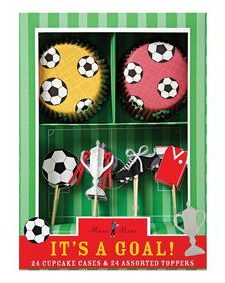 Cupcakes de fútbol