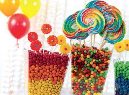 Decoración para mesas dulces