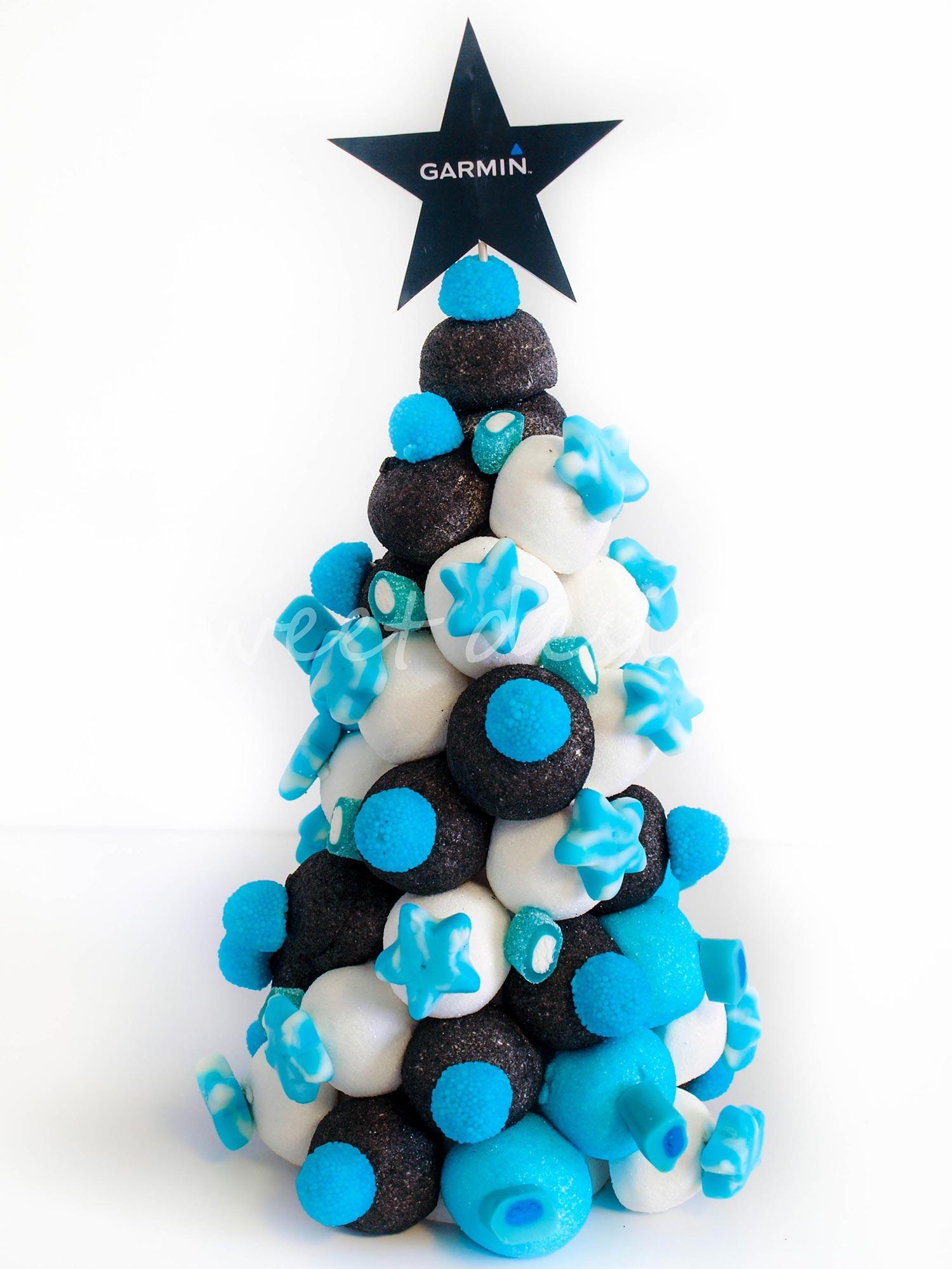 Rbol de navidad de chuches garmin sweet design - O arbol de navidad ...