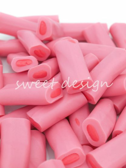 Golosinas rosas para mesa dulce