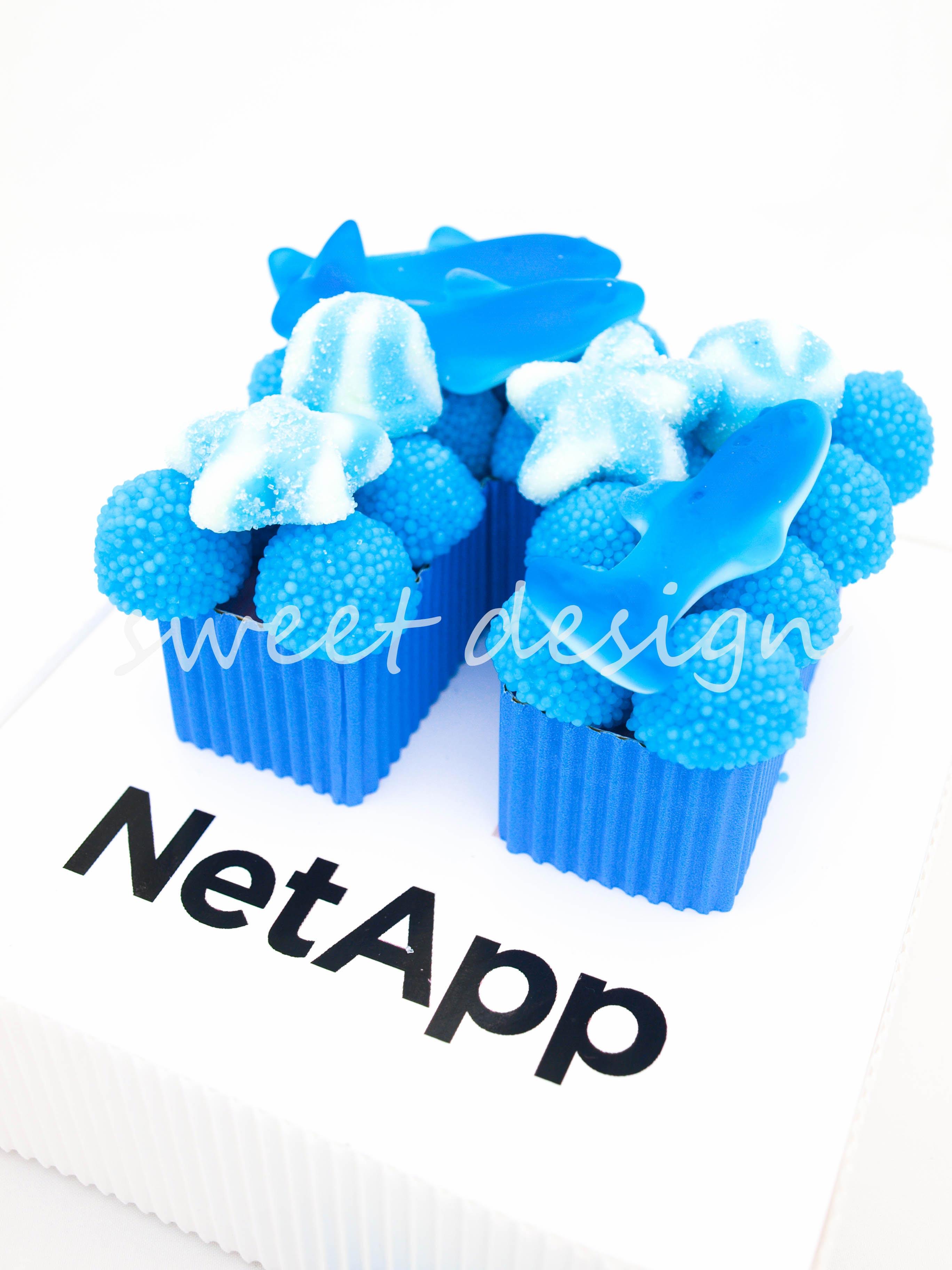 logo de chuches netapp sweet design