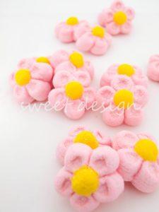 Flores rosas dulces