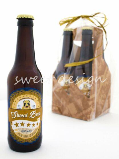 Pack de cervezas de gominolas
