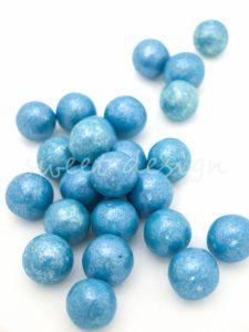 Bolas Azules de chocolate