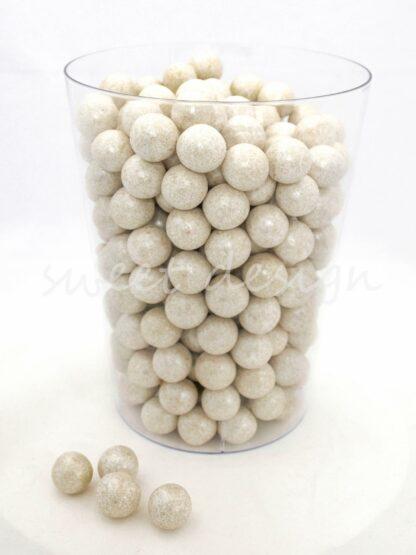 Bolas perla de chocolate