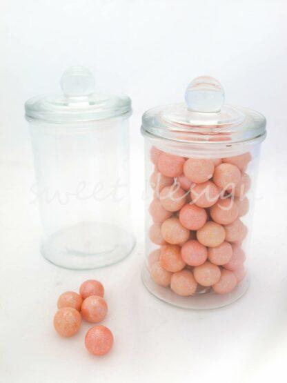Bolas de chocolate de colores