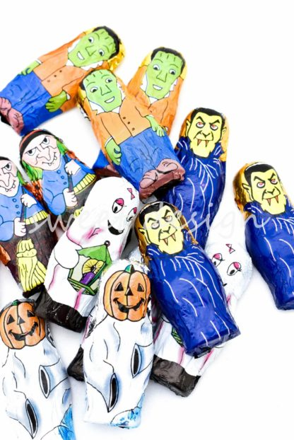 muñecos de halloween chocolate