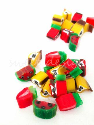 Golosinas frutas variadas al peso