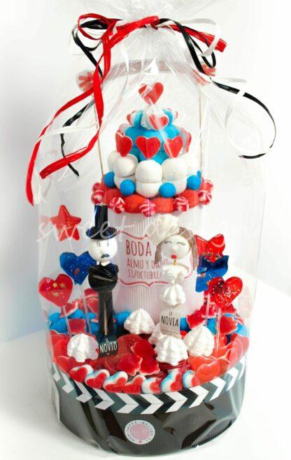 Diseño original tarta de boda