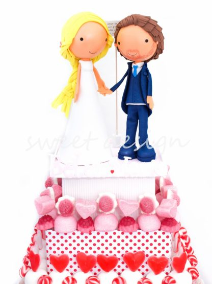 Tarta original de boda