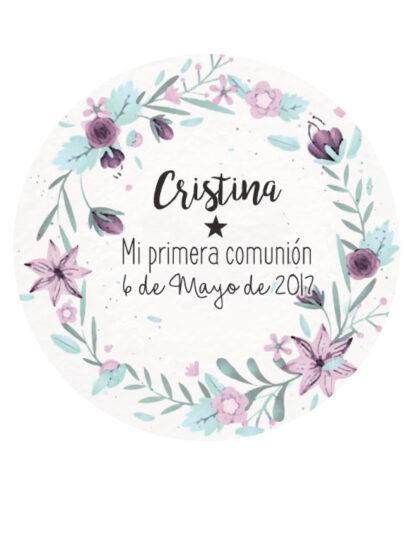 Etiquetas para regalos de comunión