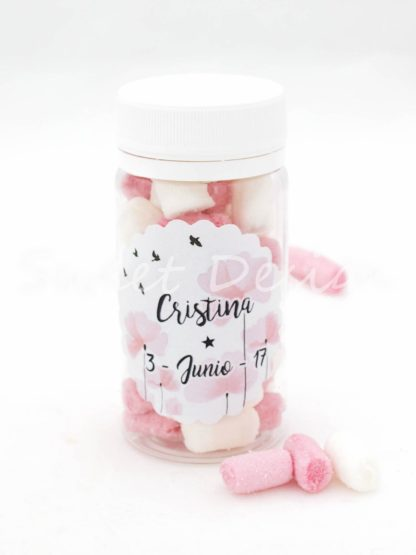 Mini nubes rosas y blancas online