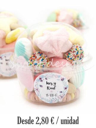 Cupcake de chuches original