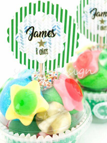 Cupcakes de gominolas