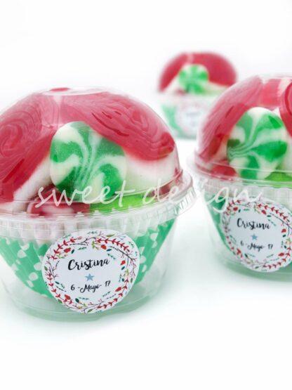 Vaso cupcake de chuches