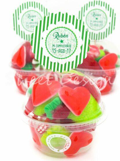 Cupcakes de golosinas online