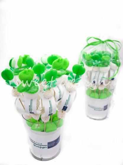golosinas verdes para empresa