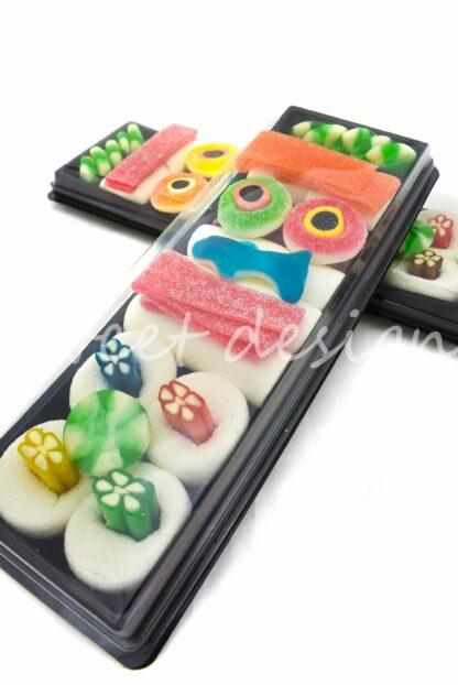 regalo sushi con azúcar