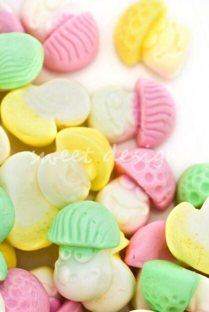 chuches de Setas Multicolor