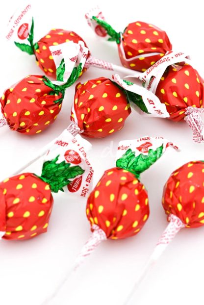 lollipop de fresa original