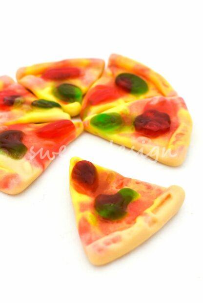 chuche con forma de pizza