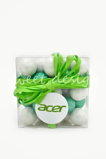 chocolates para acción promocional
