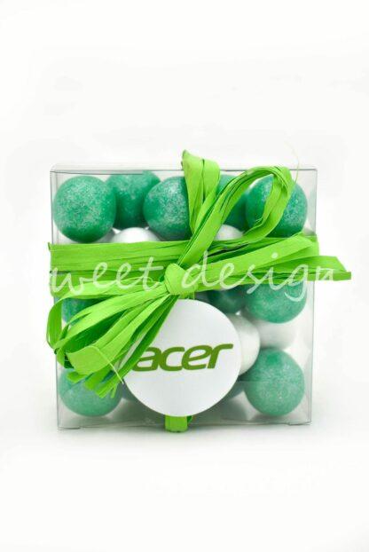 detalles de empresa personalizados con chocolates