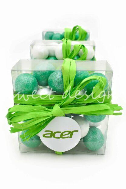 cajita con chocolates personalizada