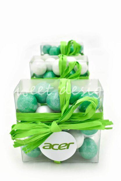 regalo de navidad de empresa con chocolates