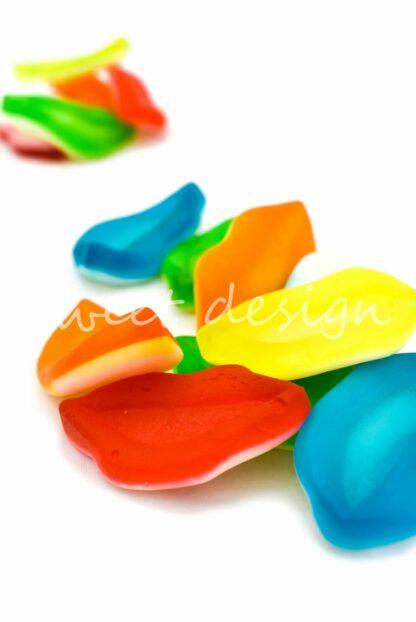 chuches de labios multicolor