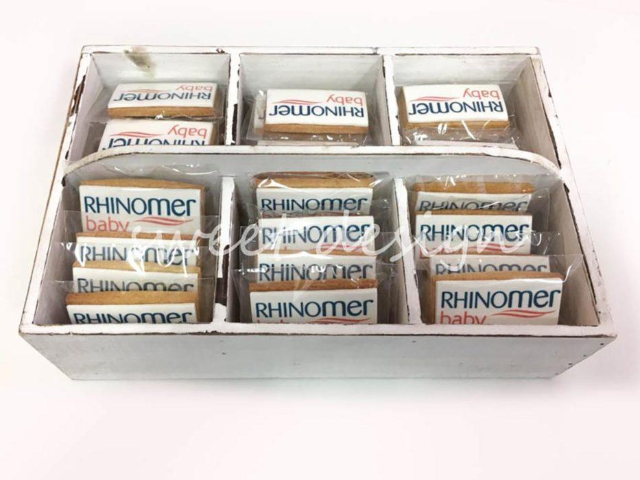 galletas con colores corporativos para empresas