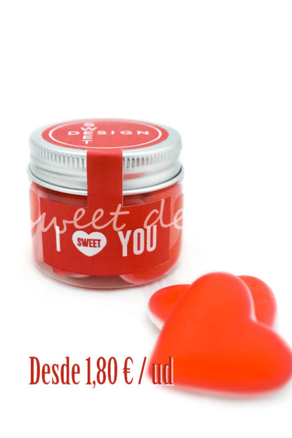 tarrito Love You para san valentin