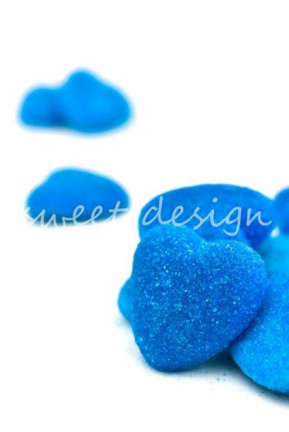 shiny blue heart vidal