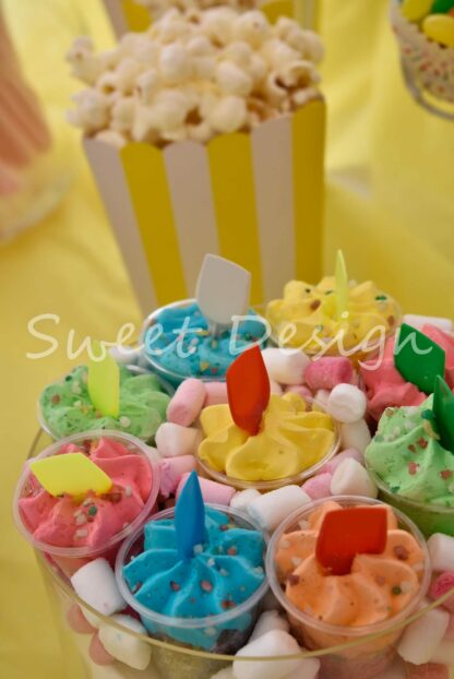 montaje de candy bar online