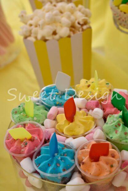 montaje de candy bar online