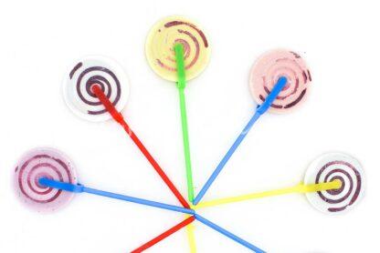 Spiral pop Top Candy