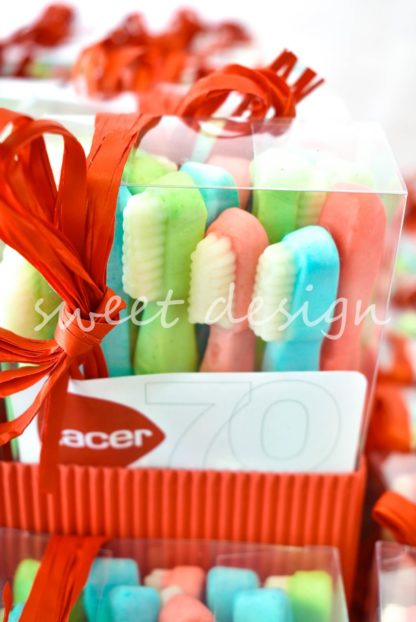centros de mesa dulces para empresas