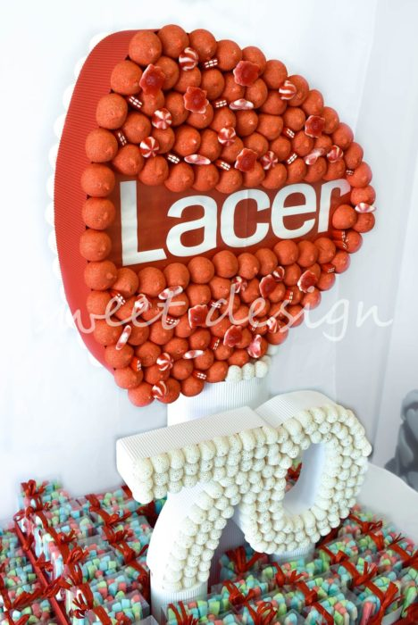 tarta personalizada para evento de empresa Lacer