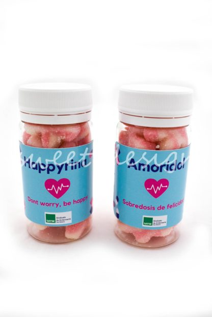 tarrito de medicina dulce personalizado para empresas